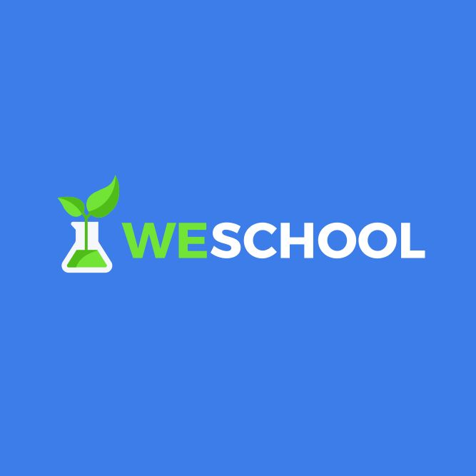 We school logo