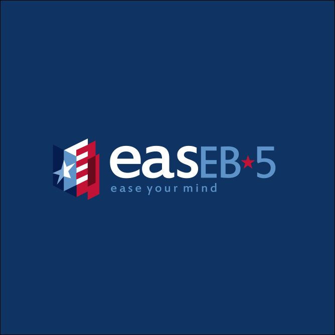 ease eb5 logo design by malbardesign.com